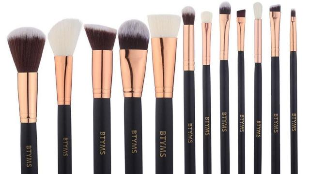 Complete Makeup Brushes 12 Piece Kit