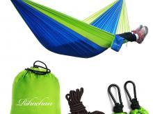 Double Hammock with Straps and Carabiners