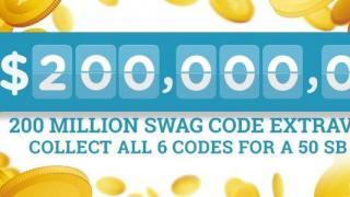 200 Million Swag Code Extravaganza