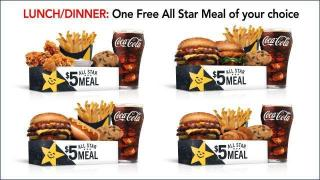 Hardee's All Star Meal