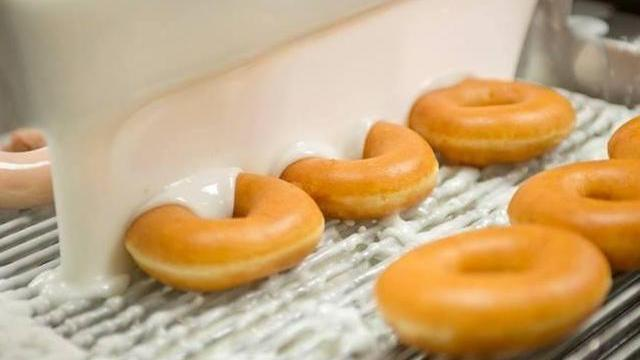 Krispy Kreme Is Selling A Special Holiday Donut For One Day Only