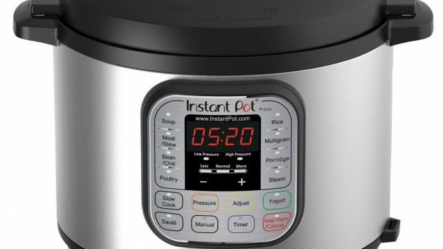Instant Pot DUO60 6 Qt 7-in-1 Multi-Use Cooker