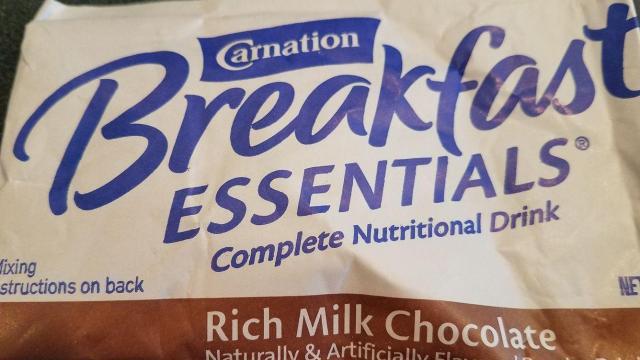 Carnation Breakfast Essentials sample