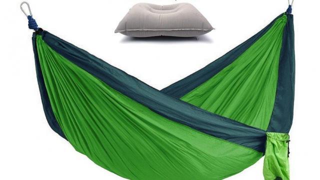 Lightweight Parachute Portable Nylon Hammock