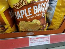 Aldi's Clancy's Maple Bacon Chips