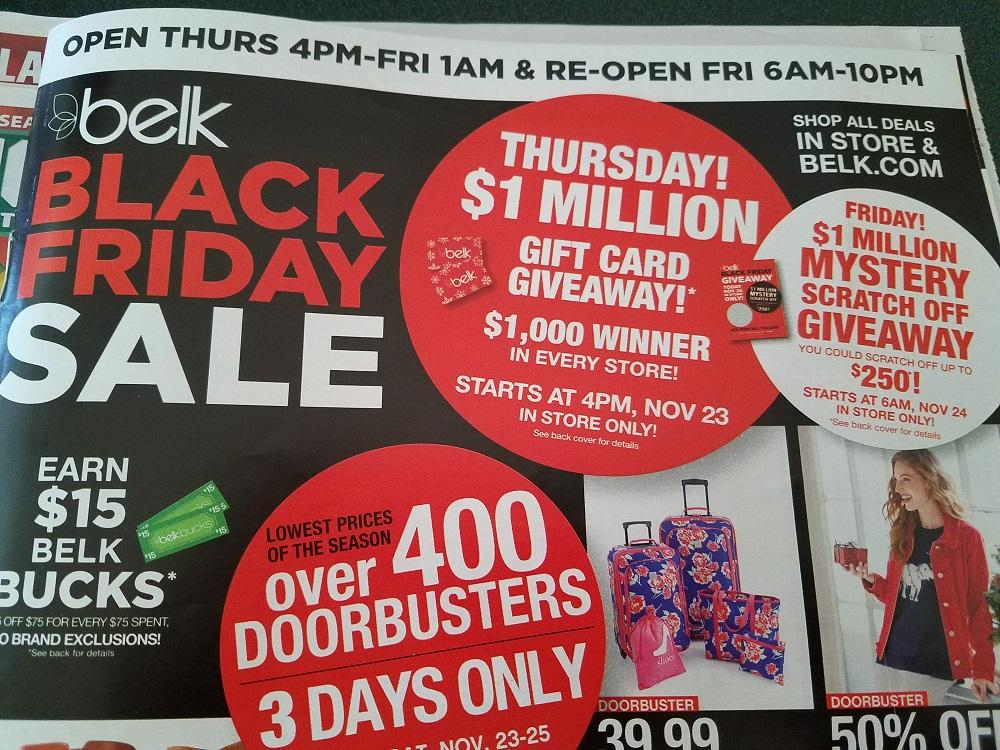 photograph regarding Belk Printable Coupons known as Consumers offended with Belk Black Friday coupon giveaway