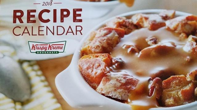 Krispy Kreme Calendar.Krispy Kreme 2018 Calendars With 110 In Coupons Wral Com