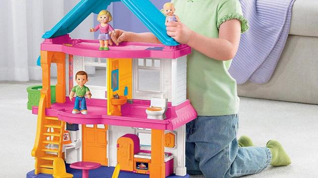 fisher-price loving family, my first dollhouse $37.14 :: wral