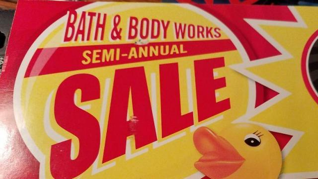 image regarding Scene 75 Printable Coupons referred to as Bathtub Physique Operates: 75% off clearance 20% off coupon