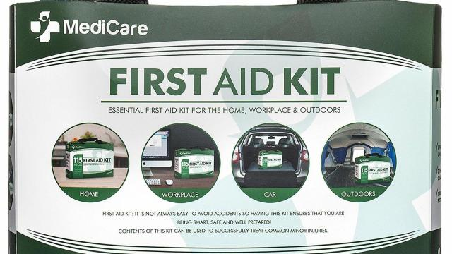 MediCare Deluxe First Aid Kit