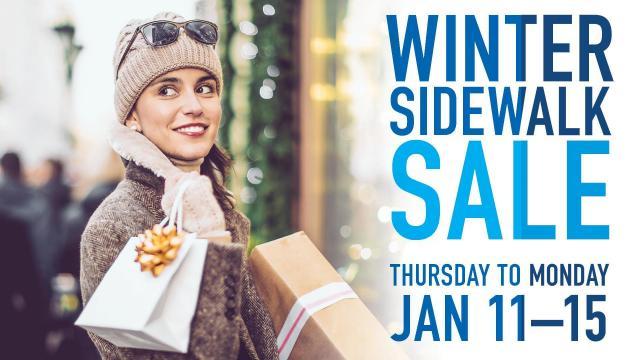 North Hills Winter Sidewalk Sale