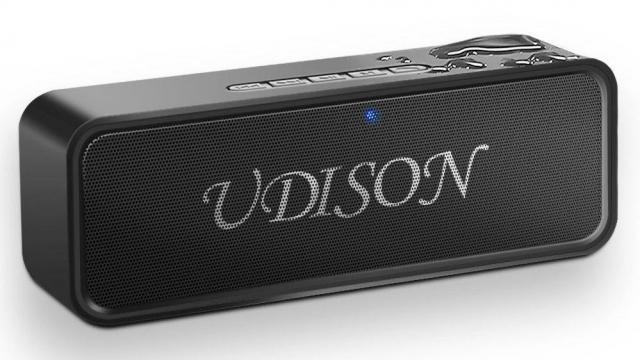 Portable Bluetooth Speaker with 3D Stereo Bass