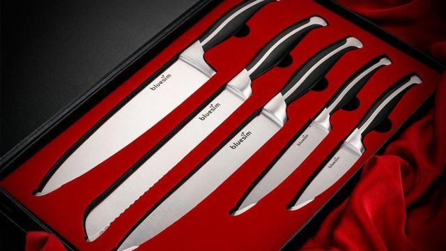Chef's Kitchen 5 Piece Knife Set
