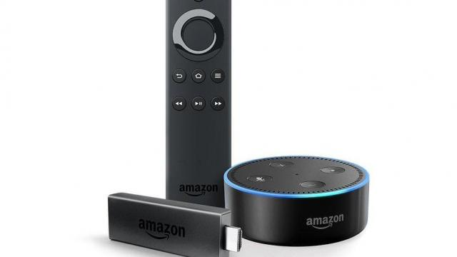 Fire TV Stick with Alexa Voice Remote AND Echo Dot
