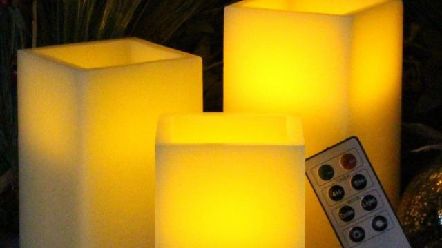 Flameless Battery Operated Candleswith Remote