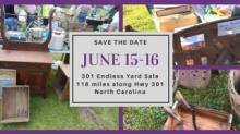 IMAGE: Annual 301 Endless Yard Sale June 15-16