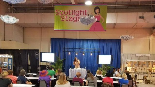 Teaching at the Southern Women's Show 4-14-18