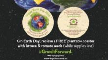 IMAGES: Earth Day 2018 Freebies & Offers