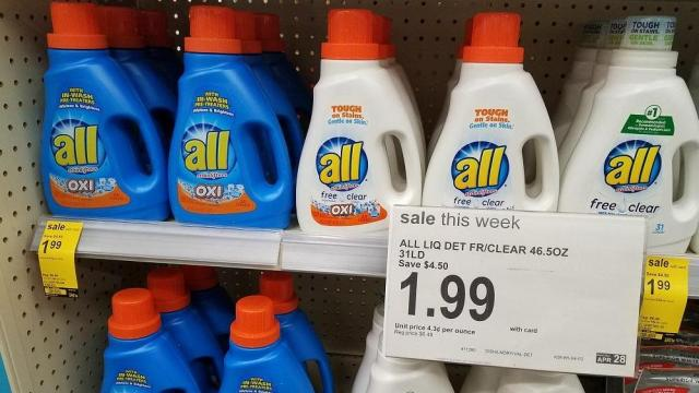 photo regarding All Laundry Detergent Printable Coupons known as All laundry merely 49 cents at Walgreens! ::