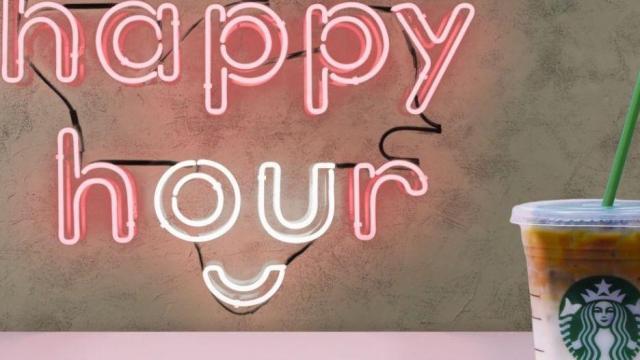 starbucks happy hour photo courtesy starbuckscom
