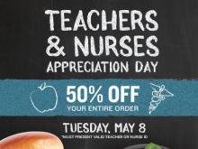 PDQ Teachers & Nurses Appreciation Day