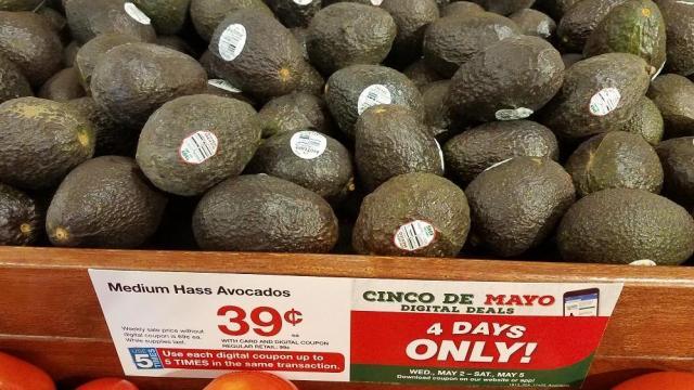 Kroger Super 4-Day Sale: Avocados only 39 cents! :: WRAL com