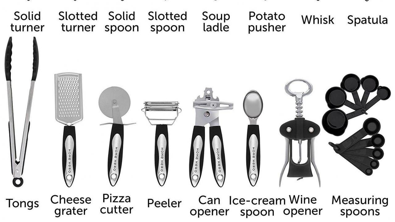Stainless Steel Kitchen Utensils 25 Piece Set only $23 99 :: WRAL com