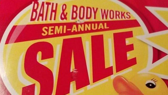 Semi annual sale bath and body works 2018 dates