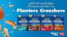 IMAGE: Free Planters Harris Teeter Taste & Tell now loaded to cards