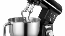 IMAGES: 5 Quart Stand Mixer with Stainless Steel Bowl only $84.99