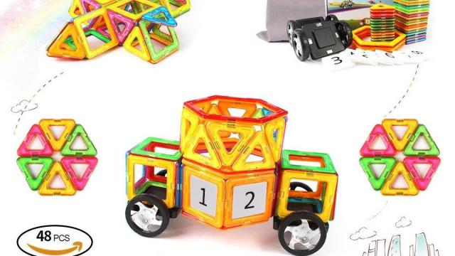 Magnetic Blocks 48 Piece Set