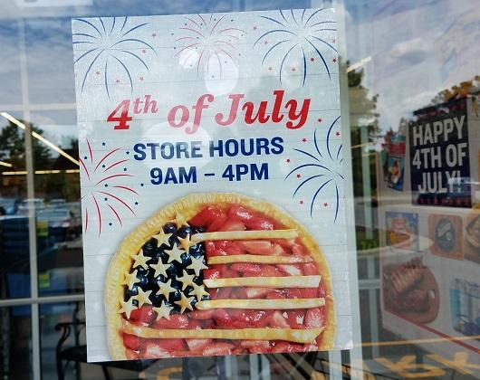 Fourth of July hours for grocery & drug stores 2018 :: WRAL com