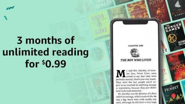 Amazon Kindle Unlimited Offer (photo courtesy Amazon)