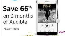 IMAGES: Amazon Audible: $4.95 per month (66%off)
