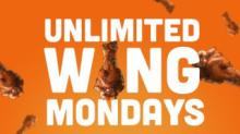 IMAGE: Hooters: Unlimited Wings for $15.99 on Mondays