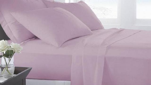 Microfiber Luxury Home Ultra Soft Sheet Set on sale at Groupon (photo courtesy Groupon)