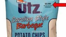 IMAGE: RECALL: Utz Barbeque Potato Chips due to undeclared allergen