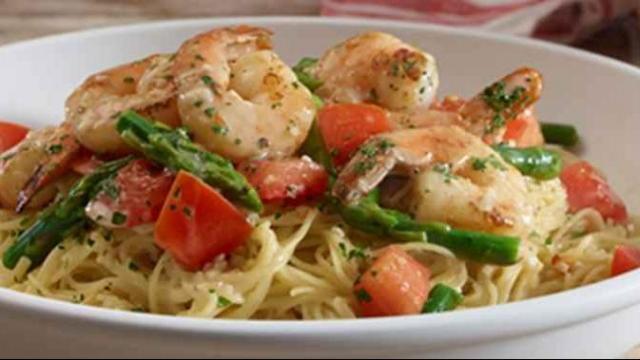 olive gadren shrimp scampi photo courtesy olive garden - Olive Garden Shrimp Scampi