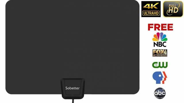 Amplified HDTV Antenna