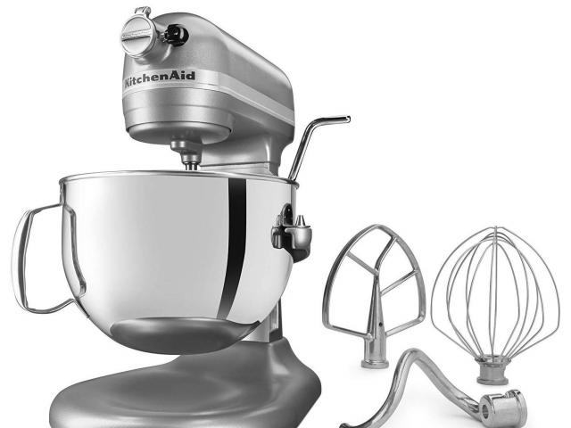 KitchenAid Professional 6-Qt. Stand Mixer only $219 (51% off ... on meyer corporation, whirlpool corporation, sunbeam products, amana corporation, kenwood chef, hamilton beach brands,