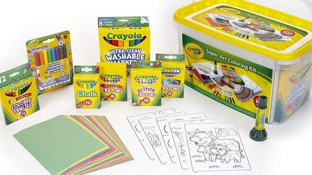 Crayola Art Supplies And Kits Up To 70 Off Today Wral Com