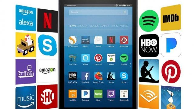 604a6ba75747 Fire HD 8 Tablet 32 GB with Alexa on sale for only  59.99 (45% off ...