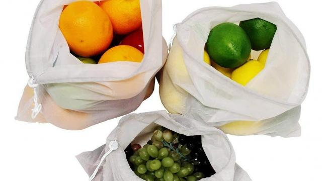 Earthwise Reusable Mesh Bags 9-Piece Set only $9 21 :: WRAL com