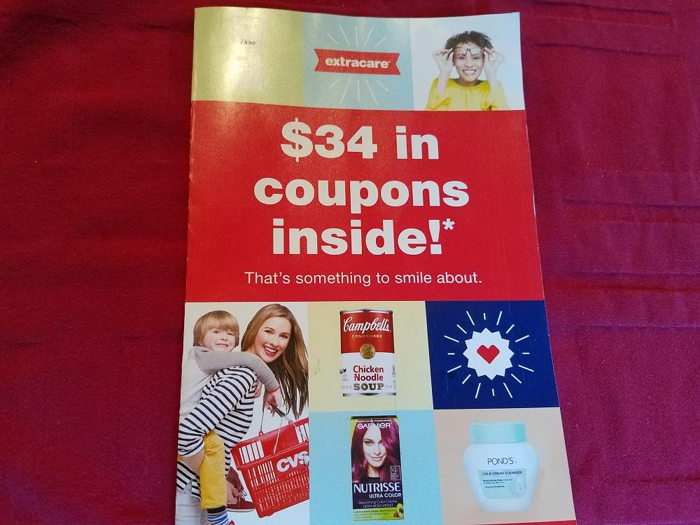 Ymmv: $3 extrabucks in yellow cvs coupon booklet by mail.