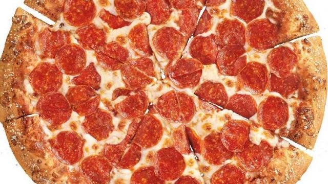 pizza hut pepperoni pizza photo courtesy pizza hut