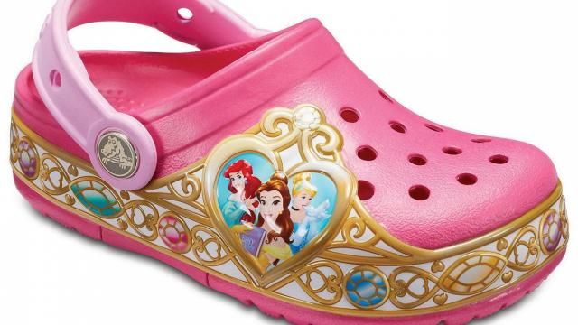 cc42d3bb06ae Crocs Kids  Crocband Disney Princess Lights Clog (photo courtesy Crocs)