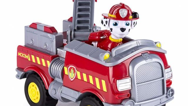 Paw Patrol Marshall S Forest Fire Truck Vehicle Only 9 39 Wral Com