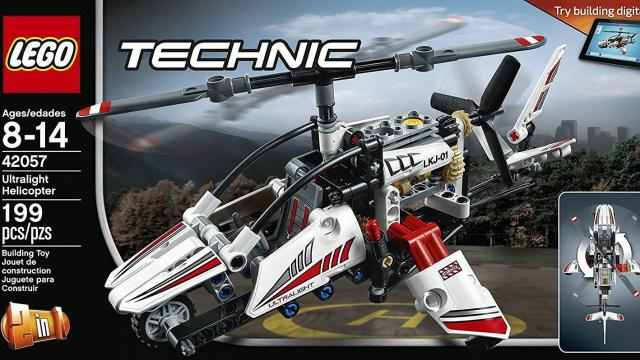Lego Technic Ultralight Helicopter Advanced Building Set Only 1399