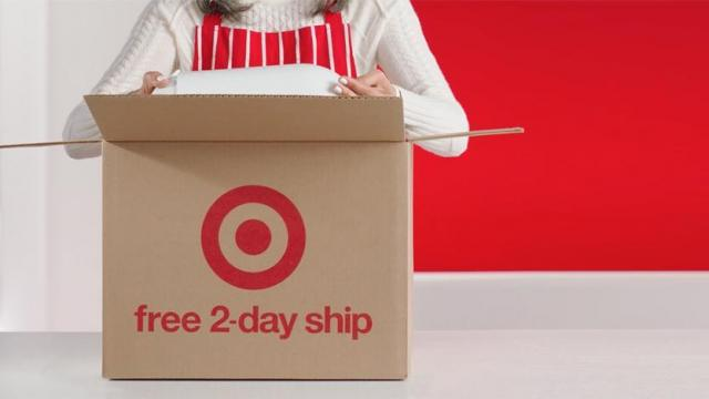 Target Free 2-Day Shipping Offer 2018 (photo courtesy Target)