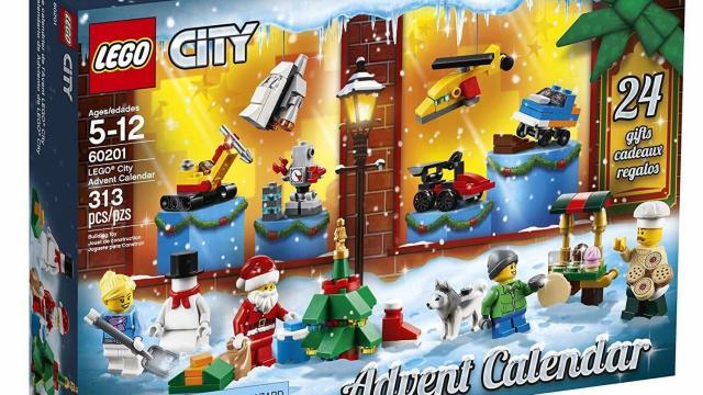 amazon lego advent calendar